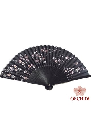 827-32 | Flower Design Hand Fan