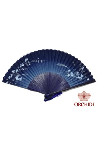 827-82 | Bamboo And Silk Chinese Style Fan