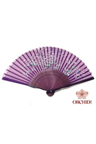 827-91p | Special Craft Flower Design Hand Fan