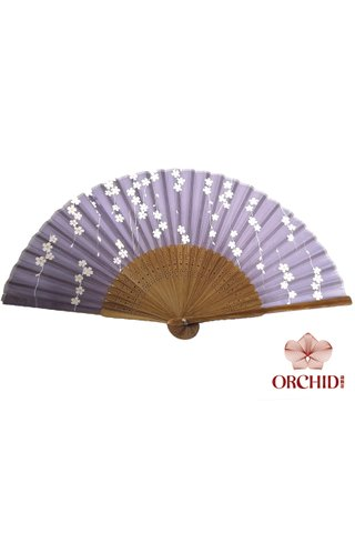 84827-26 | Bamboo And Silk Chinese Style Fan