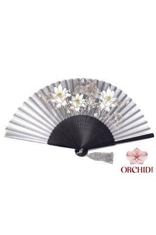 8482703 | 3 Big Flower Design Folding Hand Fan