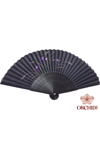 8482705 | Bamboo And Silk Chinese Style Fan