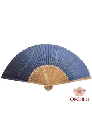 8482727 | Frog Design Bamboo Hand Fan