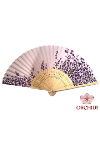 8482770 | Bamboo And Silk Chinese Style Fan