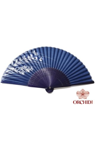 849-49 | Bamboo And Silk Chinese Style Fan