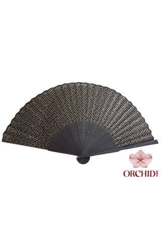 849 fish skin | Bamboo And Silk Chinese Style Fan