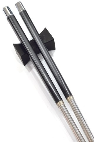 Steel Base Design | Alloy Chopsticks and Holders Dining Set