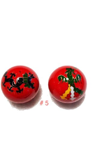 2pc Stainless Steel Hand Massager Ball Exercise Stress Ball 5