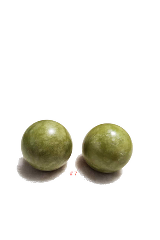 2pc Stones Hand Massager Ball Exercise Stress Ball 7