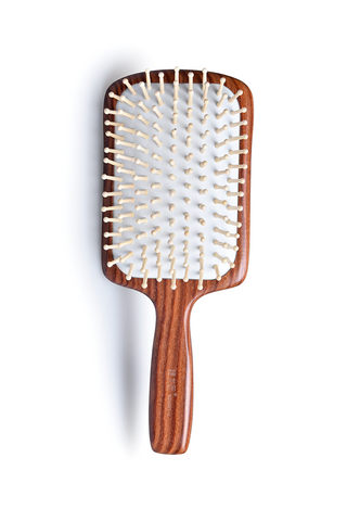 8100043 | Tan's Swartzia sp. Wooden Hair Brush