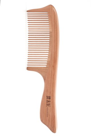 8100094 | Tan's Tendon Wooden Haircare Comb