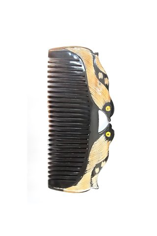 8100150 | Buffalo Horn Bird Design Comb