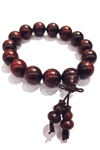 727 | India Red Sandal Wood Bracelet