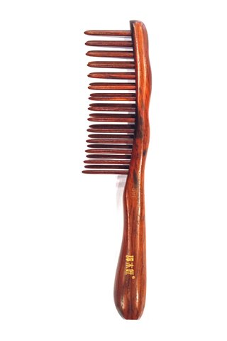 8100123 | Tan's Rose WOod Massage Comb