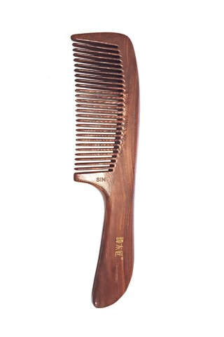 8100203 | Tan's Iron Wood Antistatic Comb
