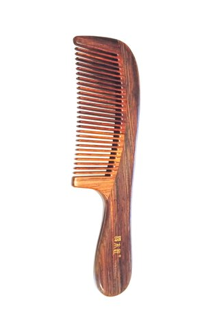 8100282 | Tan's Rose WOod Antistatic Comb