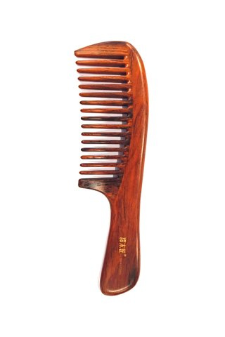 8100472 | Tan's Rose Wood ANtistatic Comb
