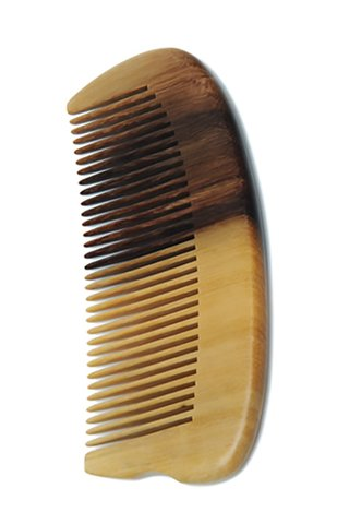 8100212 | Tan's Swartzia sp wooden comb with beautiful natural grain