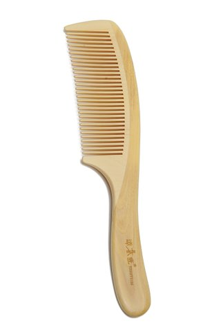8100098 | Tan's Box Wood Hair Care COmb