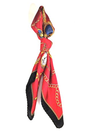 100% Silk Square Scarf Smooth and Soft Female 16