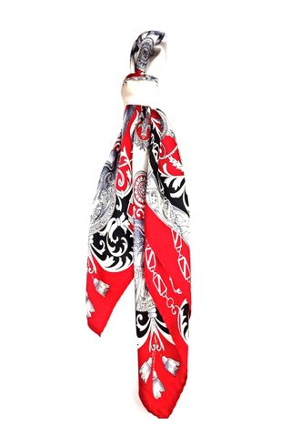 100% Silk Square Scarf Smooth and Soft Female 42