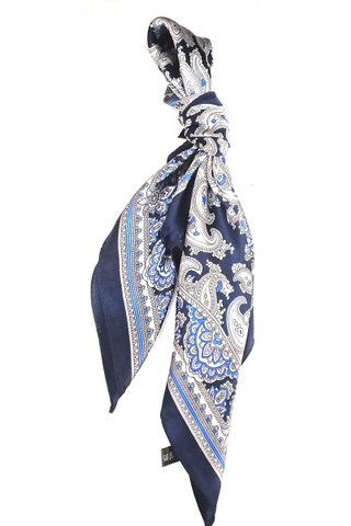 100% Silk Square Scarf Smooth and Soft Female 50