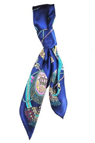 100% Silk Square Scarf Smooth and Soft Female 58
